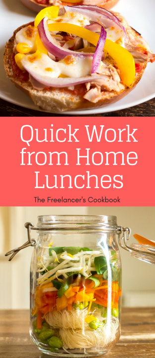 Quick work from home lunches